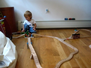 Mateo trains